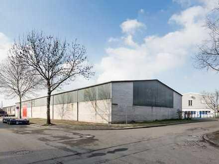1.400 m² Industriehalle zuzüglich 130 m² modernem Büroeinbau in zentraler Lage