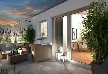 Penthouse-Maisonette   Diese Wohnung ist einzigartig.Individuell. Besonders.
