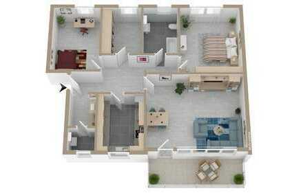 Ihr neues Zuhause, direkt zum Einziehen mit großem Balkon !!!