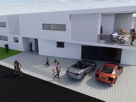 Extravagant & Elegant Einfamilienhaus mit 1-2 Einliegerwohnungen Der Rohbau steht schon!
