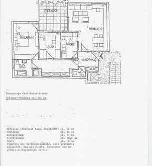 Schöne, helle 3-Zimmer-Wohnung mit großer Südwestloggia