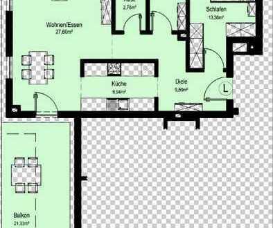 NEUBAU Schöne 2-Zimmer Wohnung