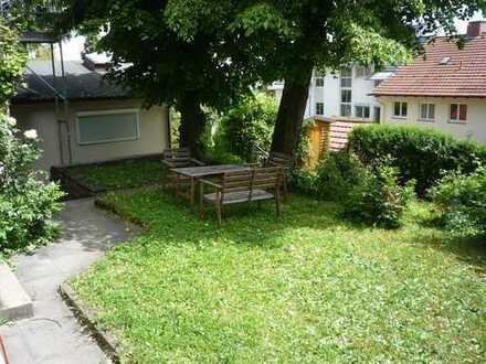 S-Mitte/Nähe Uhlandshöhe,Atelierhaus,offene Bauweise,Garten,Gartenhaus,Terrasse,EBK,Teilmöblierlieru