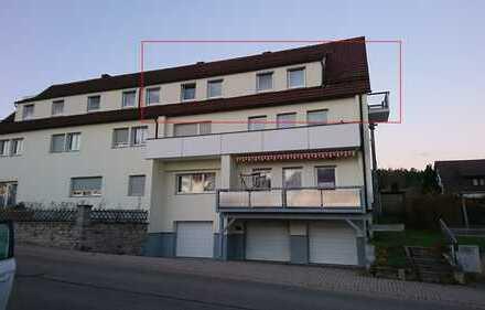 große 5,5 Zimmer Wohnung in Ötisheim mit Garage + Stellplatz