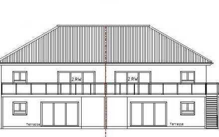 Kirchlengern Neubauprojekt - komfortable 3-4 Zi. Obergeschoss-Wohnung - mit Balkon in einer DHH