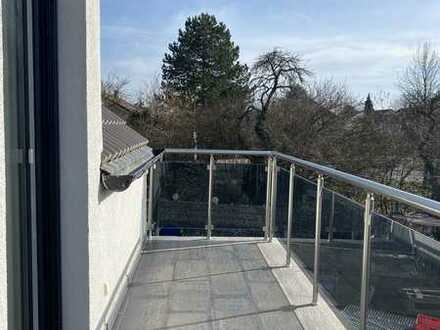 Exklusive, neuwertige 3-Zimmer-Wohnung mit Balkon in Seckenheim/Mannheim
