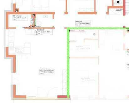 Neuwertige 3-Zimmer-Wohnung mit Balkon und EBK in Memmingerberg