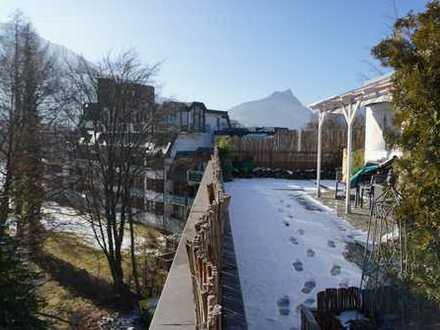 Bad Reichenhall - St. Zeno 3,5 Zi. Penthouse-Rarität mit richtig viel Dachgarten!