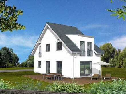 Schlüsselfertiger Neubau *Doppelhaushälfte* inkl. Grundstück, Keller, Carport, PV-Anlage und Küche