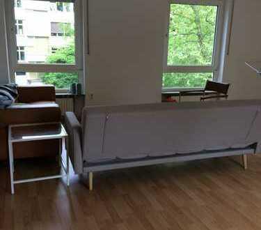 Günstige voll möblierte 3-Zimmer-Wohnung mit Balkon und EBK in Kaiserslautern