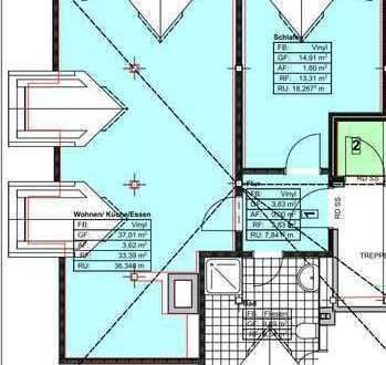 Erstbezug: geräumige 1,5-Zimmer-DG-Wohnung in Bad Tölz
