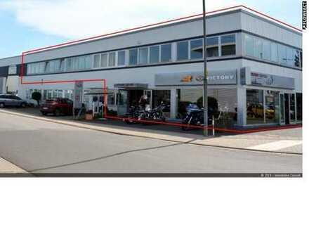 875 m² Lager-/Werkstatt-/ Showroom und Bürofläche -teilbar- in Mühlheim zu vermieten