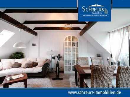 Perfekt für Berufspendler nach Krefeld - möblierte u. sehr gepflegte 2-Zi.-Wohnung mit Loggia!