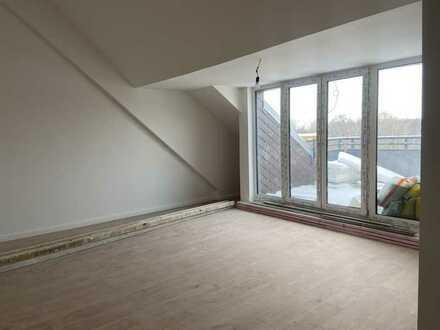 Großzügig geschnittene Wohnung im Dachgeschoß mit Terrasse und tollen Blick