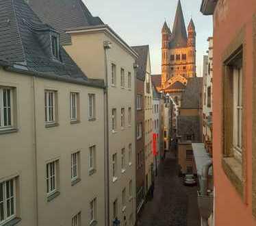 Mehr Köln geht nicht: 3 Zimmer Altstadttraum mit historischem Flair, freiwerdend und provisionsfrei