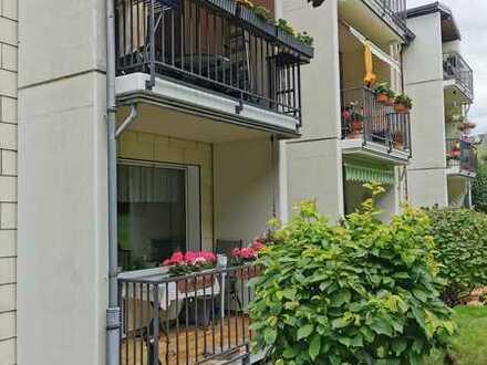 * Schöne 2-Zimmer Erdgeschosswohnung mit Balkon am Tücking*