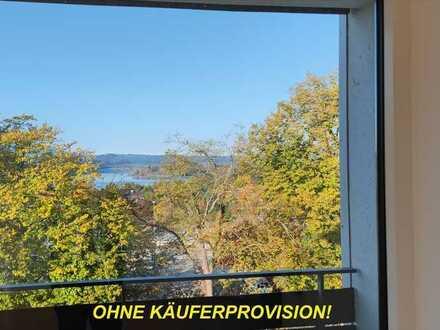3 Zimmer Wohnung mit 81,4 m² Wohnfläche und einem wunderbaren See- UND Bergblick, zentrale Lage.