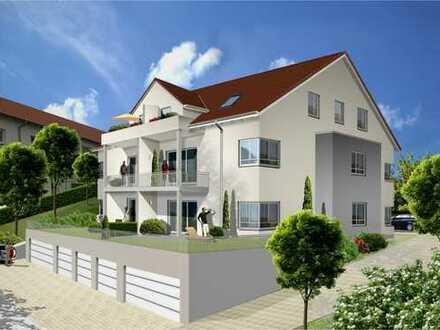 Sonnige DG-Wohnung mit großer Dachterrasse im Zentrum von Bonstetten