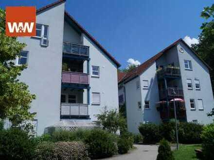 Schicke 3 Zimmer-Dachgeschoss-Wohnung mit Balkon und Garage!
