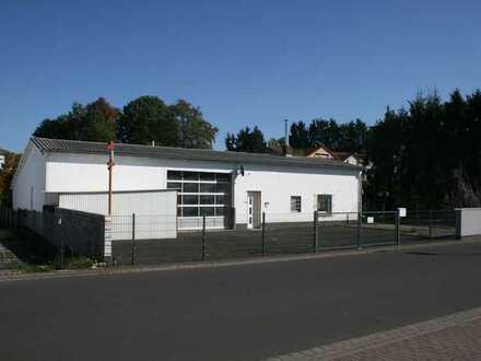 Gewerbehalle u. Lager mit Tonstudio / Büro in Freigericht
