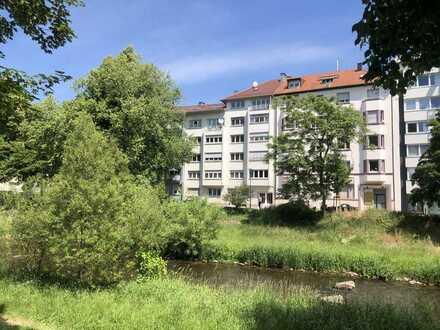 Direkt am wunderschönen Enzufer gelegene 5-Zimmer-Wohnung zentrumsnah in Pforzheim