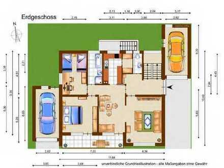 Erstbezug nach Renovierung: 3-Zimmer-Wohnung mit Balkon in Leutenbach