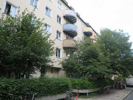 SCHWABING Univiertel 3-Zimmer-Wohnung, für Studenten-WG, EBK, Bezug 01.11.2019