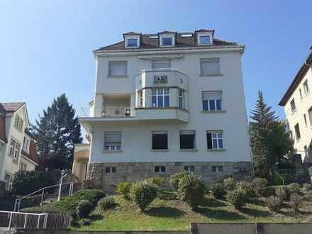 Gepflegte 3-Zimmer-Erdgeschosswohnung mit Balkon und Einbauküche in Pforzheim
