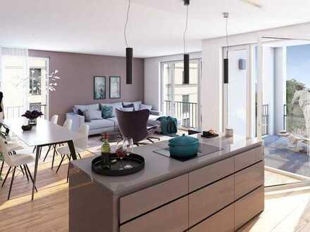 Mitten in Freiburg: schöne 4-Zimmer-Wohnung - in moderner Wohnanlage - Jetzt im Bau!