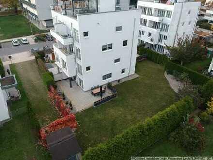 Haus im Haus, 4,5 Zi. Erdgeschosswohnung mit ca. 500 m² Garten in Neu-Ulm Wiley