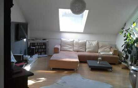 Schöne 3-Zi-DG-Wohnung mit sonniger Dachterrasse und PA Haidenhof