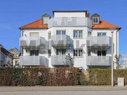 Aussichtsreiche Gelegenheit: 3-Zi.-ETW mit Terrasse und angrenzendem Garten in gut angebundener Lage