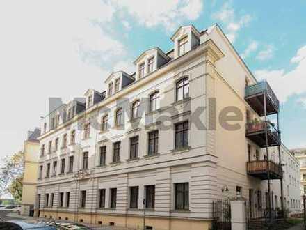 Hervorragende Kapitalanlage: Gepflegte 4-Zi.-ETW mit Balkon im Waldstraßenviertel