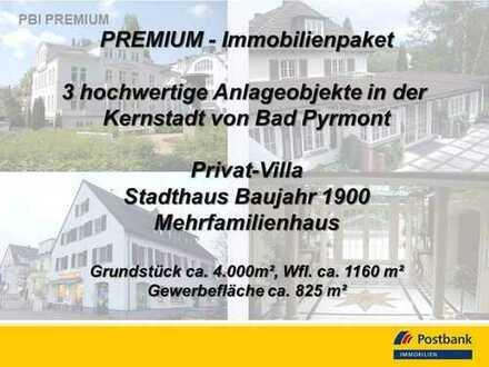 PREMIUM Kapitalanlage in Bad Pyrmont – 3 Objekte