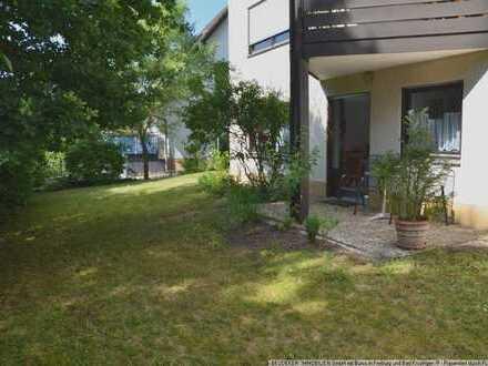 Schöne helle Wohnung im Gartengeschoss in toller Lage am Bach in Sulzburg!