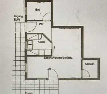 Hübsche 1,5 Zimmer Wohnung in Tübingen (Kreis), Ammerbuch