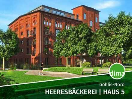 ERSTBEZUG   Heeresbäckerei   inkl. BAUSTELLENBONUS   inkl. 2 TG-Stellplätze + Loggia + 2 Bäder u.v.m