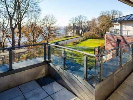ca. 165m² Penthouse-Maisonette an der Elbchaussee
