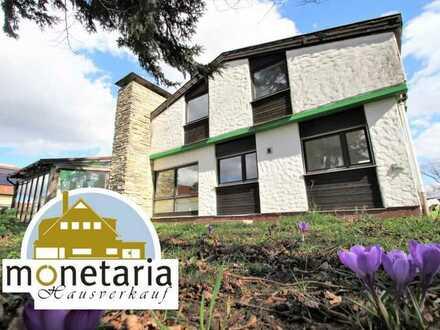Erbbaurecht - Grundstück mit renovierungsbedürftigem Einfamilienhaus