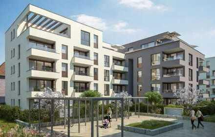 Erstbezug: Top-moderne sonnige 3-Zimmer-Wohnung mit Balkon in Erlangen