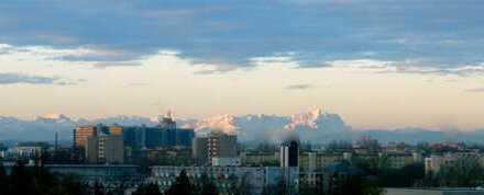 Fernsicht bis in die Alpen: schöne 5 Zimmer Wohnung in Bogenhausen zu verkaufen