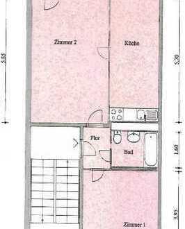 Schöne 2-Raum-Whg., Tangermünder Str. 44, 04. OG