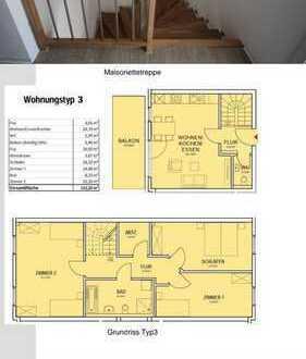 Schicke Helle Zentrale Maisonette Wohnung sucht Nachmieter