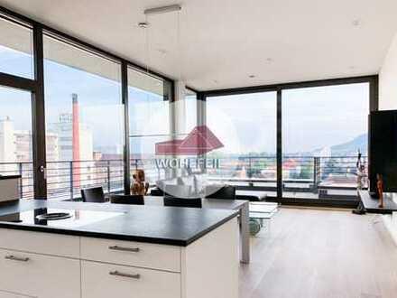 Wohlfeil Immobilien: Exklusive Penthouse-Wohnung mit Blick auf den Wartberg!