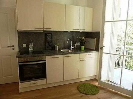 möblierte Wohnung, Innenhoflage im Klinikviertel, U3; U6 am Gotheplatz