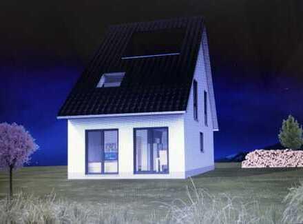 Doppelhaushälfte Wohnfläche ca. 95 qm auf 2. Etagen mit einem Grundstück ca. 690 qm