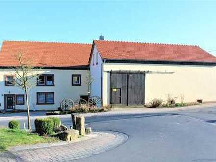 Renoviertes Bauernhaus m. gr. Scheune u. Ausbaumöglichkeit. Rarität mit schöner Bausubstanz!