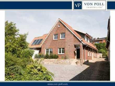 Hochwertige Stadtwohnung mit Südterrasse am Weinberg in Bad Bentheim