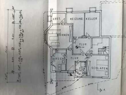 Ansprechende 2-Zimmer-Wohnung mit Freisitz und Einbauküche in Kaisersesch