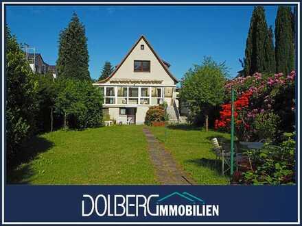 Sanierungsbedürftiges Einfamilienhaus auf großem Grundstück in TOP-Lage von Hamburg-Jenfeld!